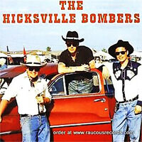 HICKSVILLE BOMBERS CD - BRITISH ROCKABILLY Rock 'n' Roll Raucous Brand NEW