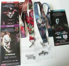 2015 2016 26 CHANCE JACK LANYARDS HALLOWEEN HORROR NIGHT UNIVERSAL EVENT GUIDES