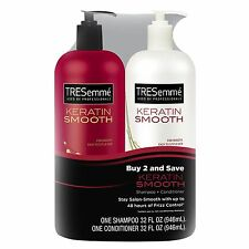 TRESemme Keratin Smooth Shampoo & Conditioner 32 fl oz 2 Pack - Brand New Item