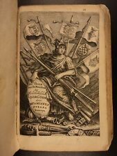1655 Famiano Strada History of DUTCH Revolt Charles V Holy Roman Empire WARS
