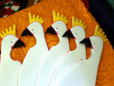LOT OF TEN ***FAMOUS CHICKEN BOTTLE COVER    IKEA EXCLUSIVE