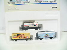Märklin 94015 carri Set Langnese/iGlo xl415