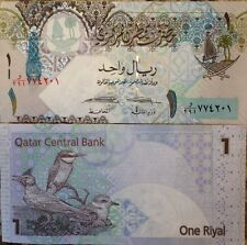 QATAR 2008 1 RIYAL UNCIRCULATED NOTE P-20 BIRD & NEST BUY FROM A USA SELLER !!