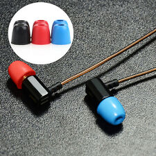 3 Pairs 5mm Silicone Noise Isolation Memory Foam In-Ear Earbud Replacement Tips