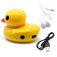 Portable Duck USB Mini Digital MP3 Music Player Support 32GB Micro SD TF Card