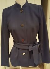 H&M MILITARY STYLE TIE BELTED FULLY LINED JACKET SIZE 12 BNWT RRP £34.99