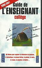 Guide de l'enseignant college.Pocket Junior Z007