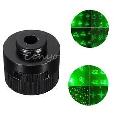 Black 8 in 1 Star Cap Converter Head For Green Red Blue Laser Pointer Pen Light