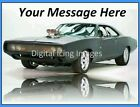 Cake topper edible image icing Fast & Furious REAL FONDANT A4