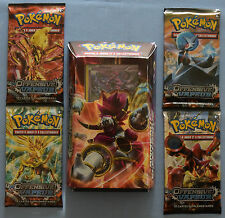 Carte Pokemon Deck Hoopa + 4 Boosters Offensive Vapeur Fr Neuf