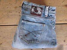 "FREESOUL JEANS ""LAGODA"" 30X31 SELVEDGE THUNDERBIRD ORGANIC WASH HEAVY FADE LOW R"