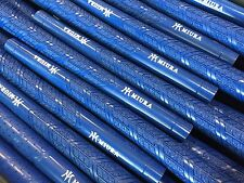 MIURA IRON GOLF RUBBER GRIP x 10 PIECES SUPERIOR TRACTION BLUE