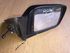 Nissan Sunny Coupe B12 UK Driver / Right Hand Wing Mirror 1987 IKI 8087