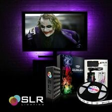 LED Home Theater TV BackLight Accent Back Lighting Kit Bias Multi-Color Strips