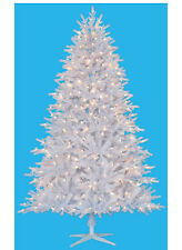 8 Foot Tribeca Spruce WHITE Artificial Christmas Tree – Unlit
