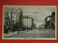 MILANO Corso Venezia vecchia cartolina tram