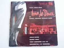 "JULIE DAWN and BARRY KENT - Vocal Gems from IRMA LA DOUCE - 7"" EP"