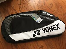 New YONEX BADMINTON RACKET BAG (BLACK)