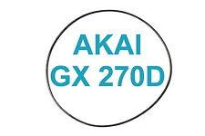 SET CINGHIE AKAI GX 270D REGISTRATORE A BOBINE BOBINA NUOVE FRESCHE GX270D 270 D