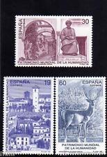 Spain Edifil # 3453/3455 ** MNH Set. Patrimonio de la Humanidad