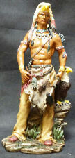 EAGLE WARRIOR  Native American Indian with Eagle  Western  H10.5""