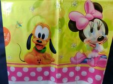 Baby Minnie Mouse Birthday party supply  decoration table cloth  cover 220x132cm