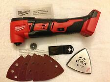 New Milwaukee 2626-20 18V Volt M18 Cordless Oscillating Multi Tool W Accessories