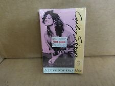 CARLY SIMON BETTER NOT TELL HER FACTORY SEALED CASSETTE SINGLE