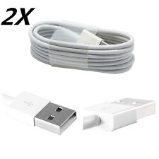 2X USB Sync Data Cable Charger Cord Adapter for Apple iPhone 5 5C 5S 6 6 PLUS 1M