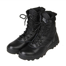 Men Military Tactical Ankle Boots Cordura Desert Combat Army Hiking Shoes