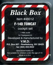 Black Box 1:48 F-14D Tomcat Resin Cockpit Set for Hasegawa Kit #48012