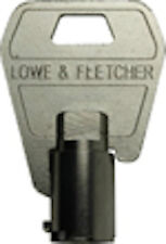 LOWE & FLETCHER Tubular Keys Cut To Code Number-Vending,Garage & Cam Locks-L&F