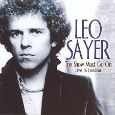 Sayer, Leo Show Must Go on CD