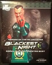 "Heroes DC Universe Blackest Night Green Lantern Sinestro 6"" Bust MINT DC Direct"