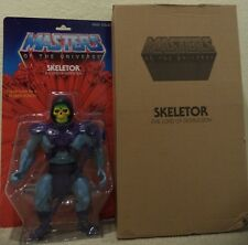 "MASTERS OF THE UNIVERSE CLASSICS 12"" GIANT SKELETOR FIGURE W/ MAILER CBP80 2014"