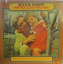"Hank Snow - Souvenirs  (black RCA LSP-2285) (with ""I'm Movin' On"") ('62)"