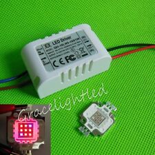 1pc 10W Red 660nm + Blue 450nm 7:2 High Power LED & driver Plant Growth light