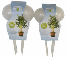6 x AQUA GLOBES AUTOMATIC WATERING BULBS HOUSE HANGING PATIO PLANTS ROOTS/SOIL