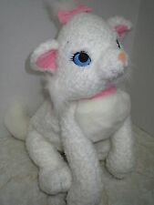 "Disney Store Big Hugs Marie 21"" Kitty Cat White Aristocats Stitched Eyes Plush"