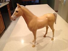 Vintage Louis Marx Palomino Horse Johnny West Series