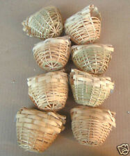 NEW Bird Finch Bamboo Nests #8221 - Lot of 8 pcs-888