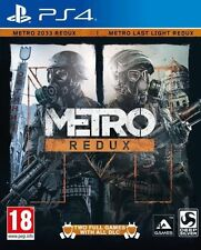Metro Redux (PS4 2games On 1 Disc Plus Dlc Added To Game