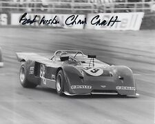 Chris Craft Hand Signed 10x8 Photo Le Mans 1.