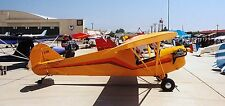 Stewart Headwind High-Wing Homebuilt Aircraft Mahogany Wood Model Replica Small