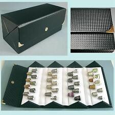 Fabulous Folding Thimble Display Case * Holds 36 Thimbles