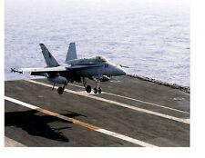 Boeing F18C Hornet VFA37 Navy Fighter Aircraft Photograph 8x10 Color 2004