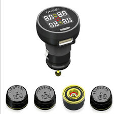 TP200 Wireless Car TPMS Tire Tyre Pressure Monitoring System +4 External Sensors