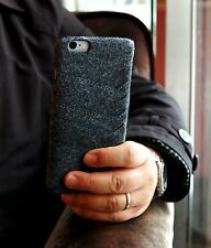 iPhone 6 6s Plus felt slim wallet case dark gray color