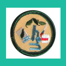 SCIENCE in EVERYDAY LIFE Jr Jade Girl Scout BADGE NEW Patch Multi=1 Ship Chrg