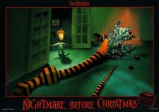 Nightmare Before Christmas ORIGINAL Aushangfoto Tim Burton / Nina Hagen KULT